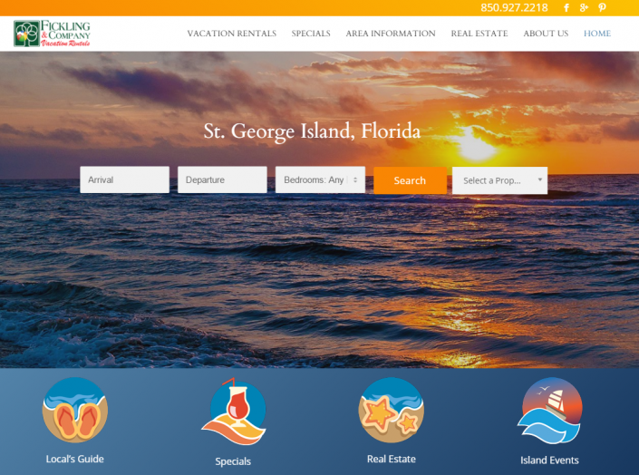 St George Island Florida Map.Blog Plan Your St George Island Visit Fickling Vacation Rentals