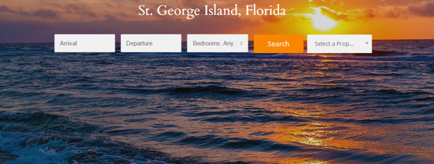 Fickling Vacation Rental Website Preview