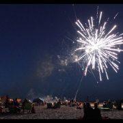Independence Day Celebration on St. George Island, Florida