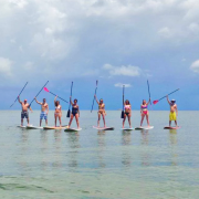 Paddle Board Group on St. George Island